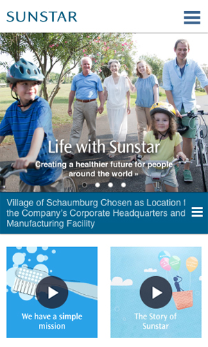 Sunstar Global Website